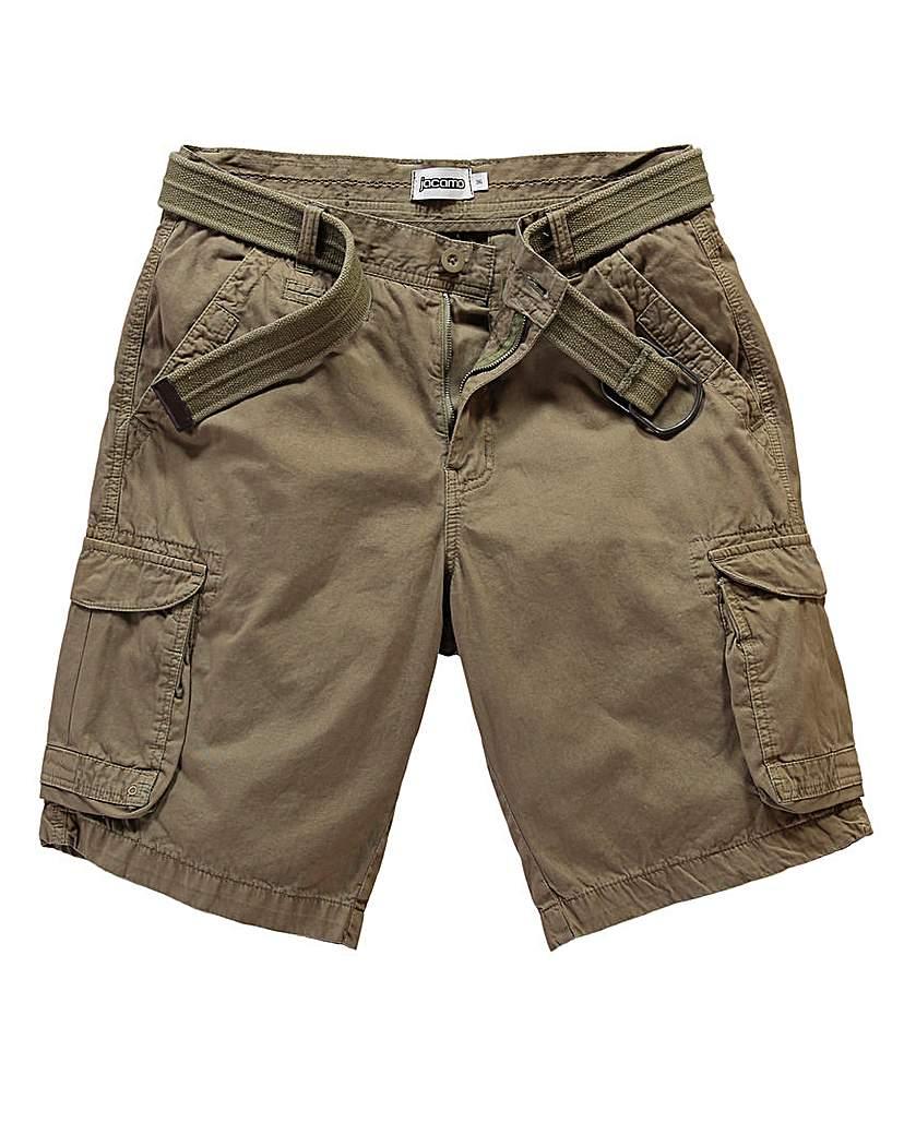 Jacamo Bexar Khaki Cargo Short.