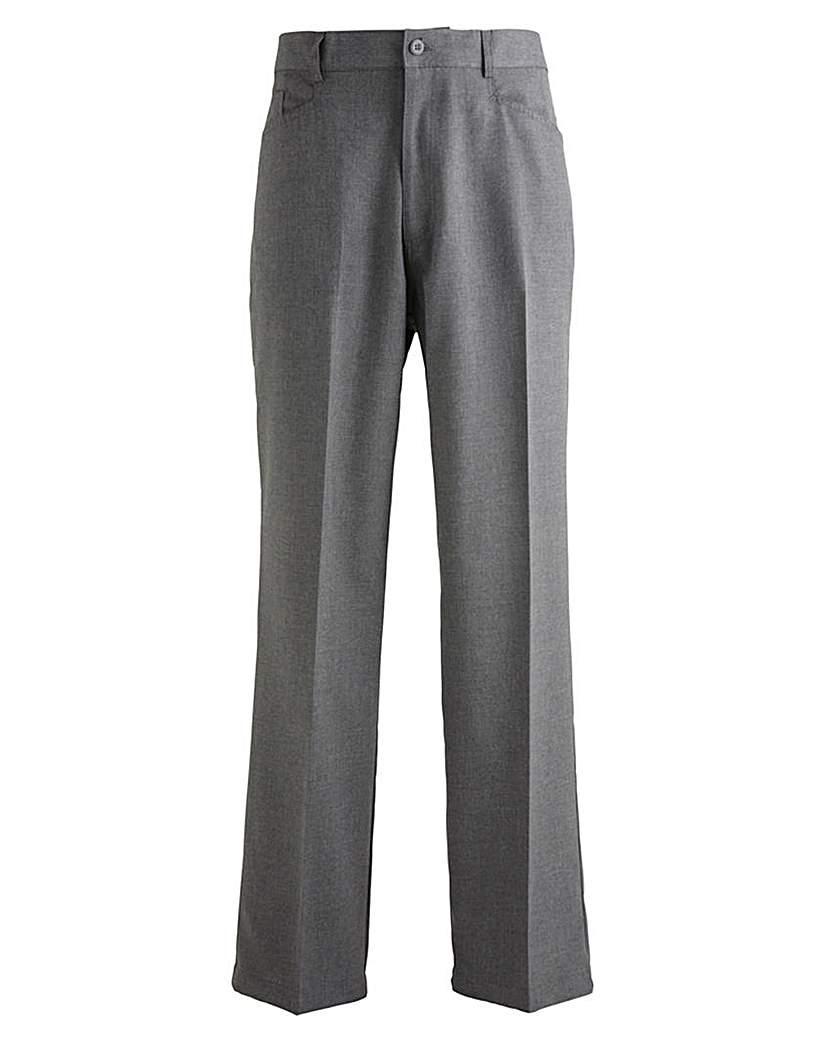 Jacamo 5 Pocket Trousers 35 Ins