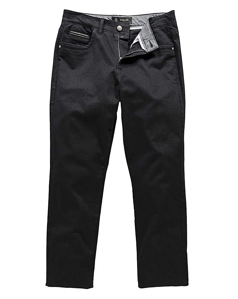 Black Label Audley Twill Jeans 31in.