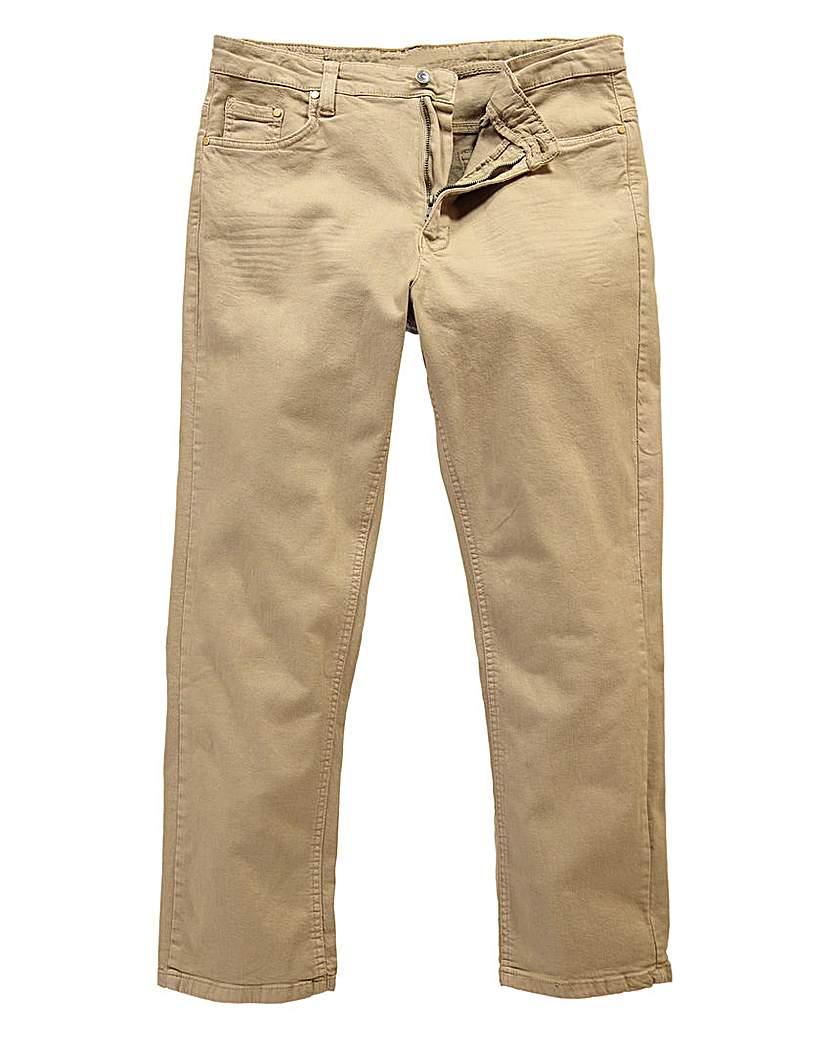 UNION BLUES Stone Gaberdine Jeans 31in
