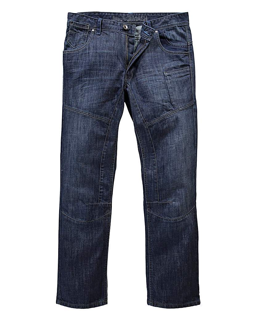Mish Mash NYC Panel Jean 33in at Premier Man Catalogue