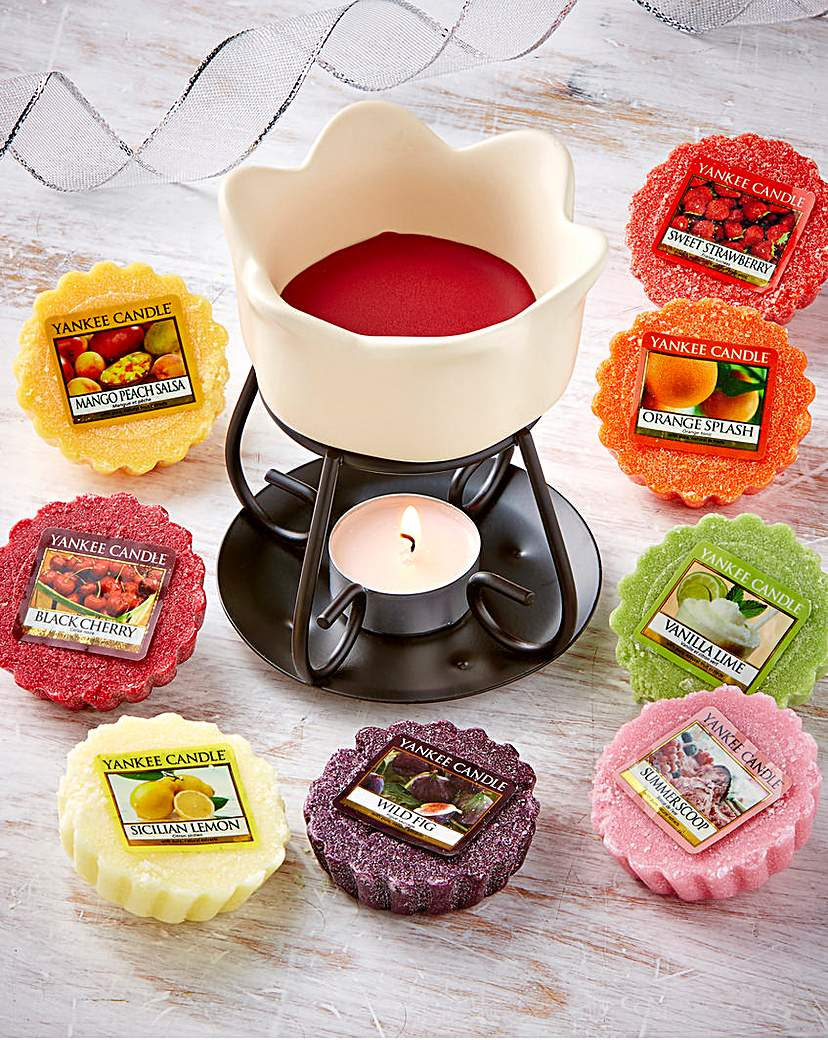Image of Yankee Fruit Basket Melt Warmer & Melts