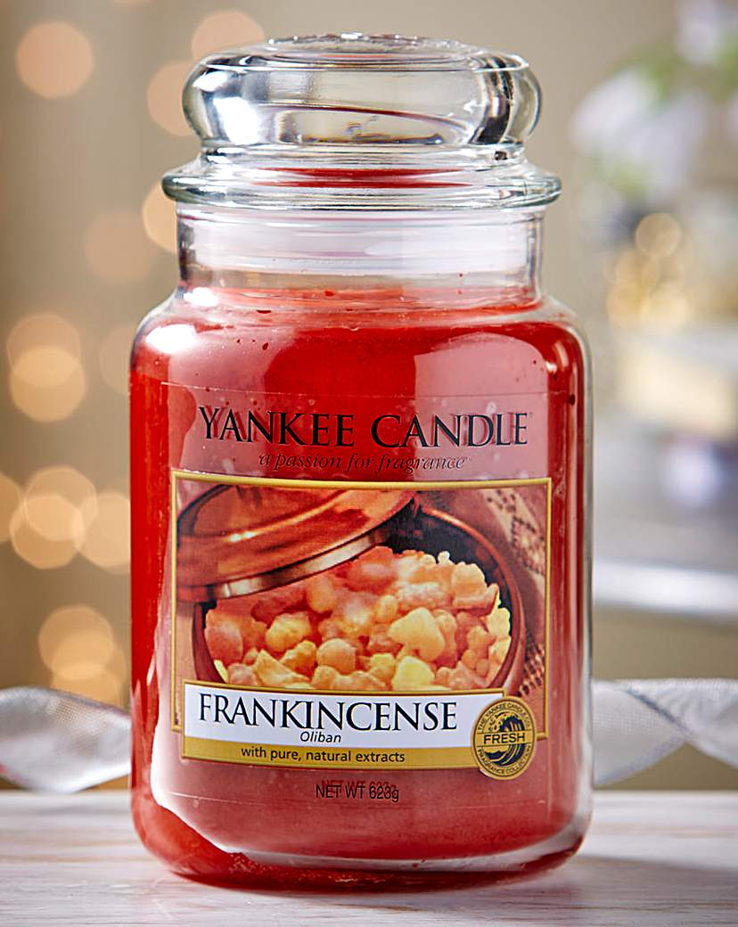 Image of Yankee Candle Frankincense Large Candle