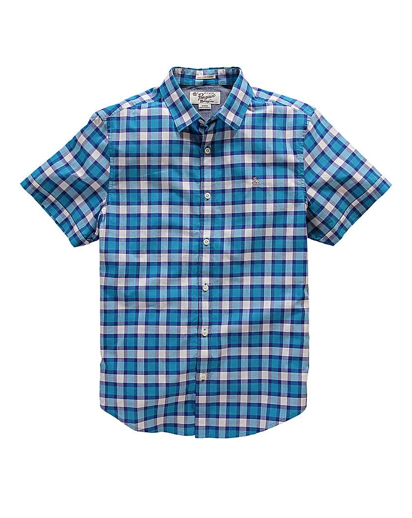 Image of Original Penguin Check Shirt Long