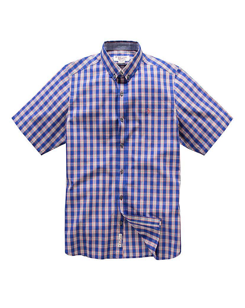 Image of Original Penguin Check Shirt Regular