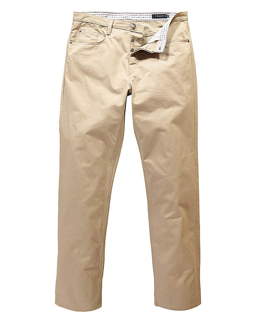 Peter Werth Five Pocket Twill Trouser L