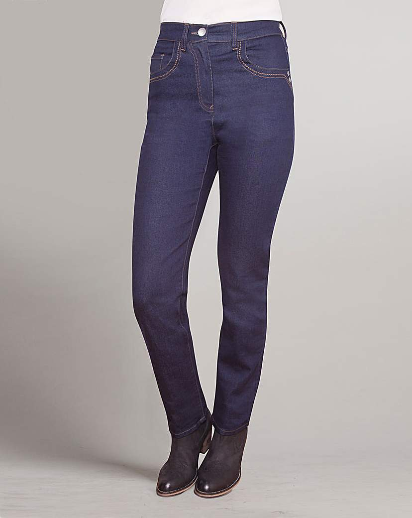 1960s Style Women's Pants JOANNA HOPE Straight Leg Jeans £18.00 AT vintagedancer.com