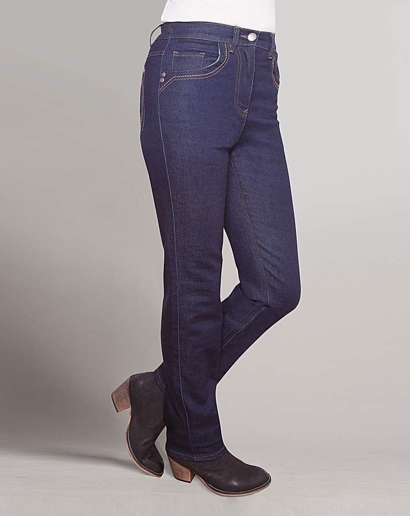 Top to Toe Straight Leg Jeans 27in