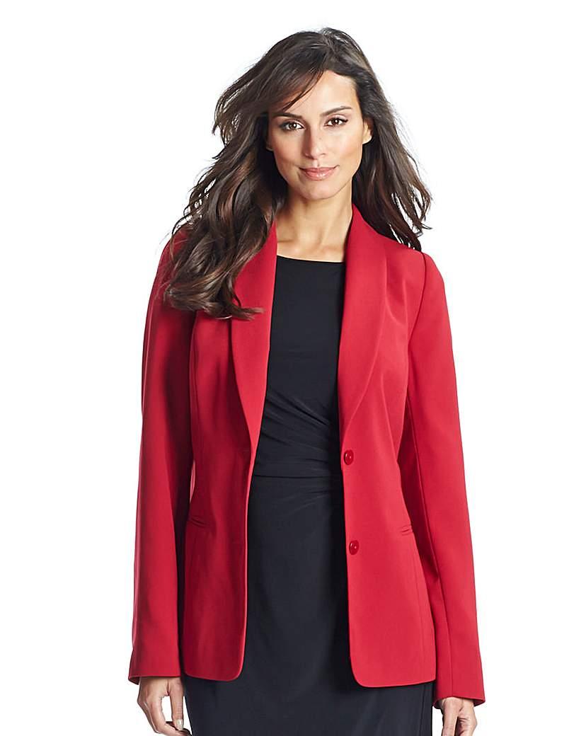 Crepe Tailored Jacket