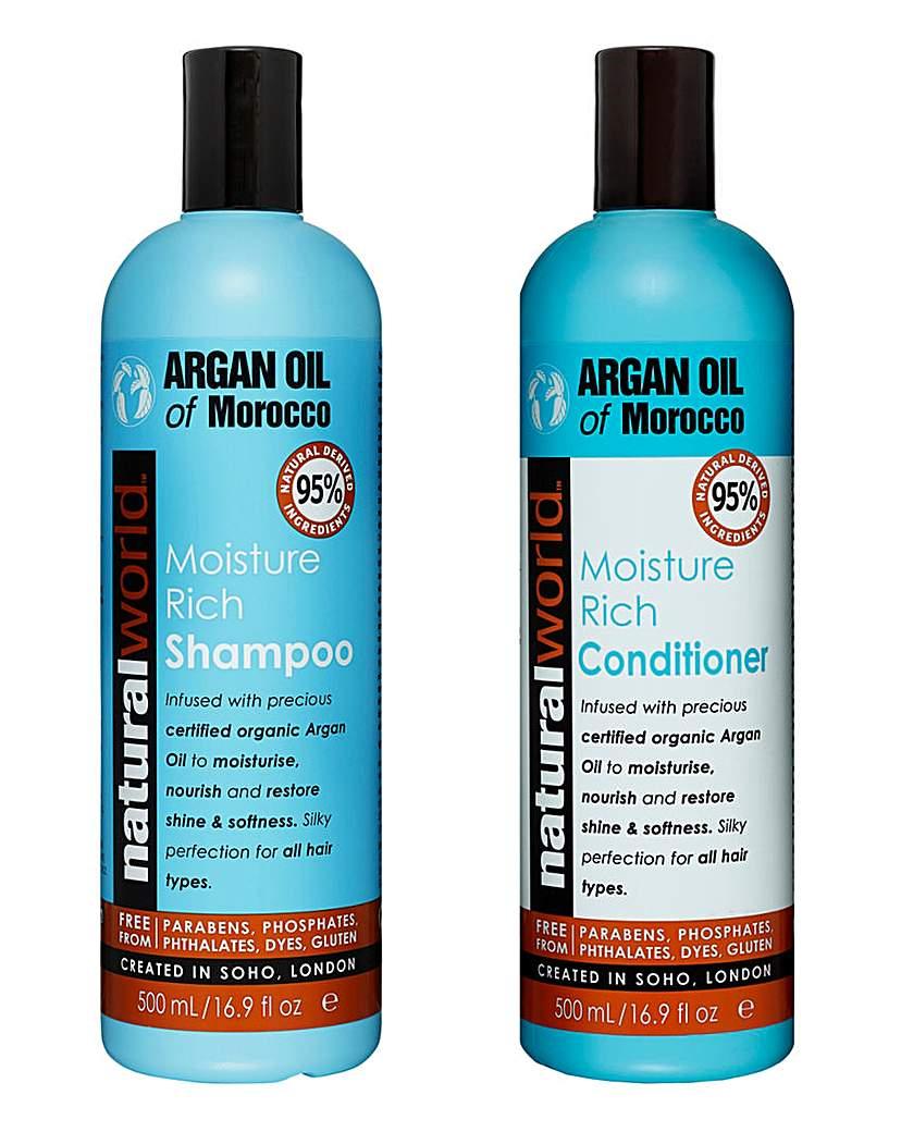 Image of Argan Oil Shampoo & Conditioner Set