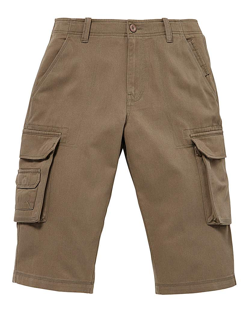 Image of WILLIAMS & BROWN 3/4 Cargo Pants