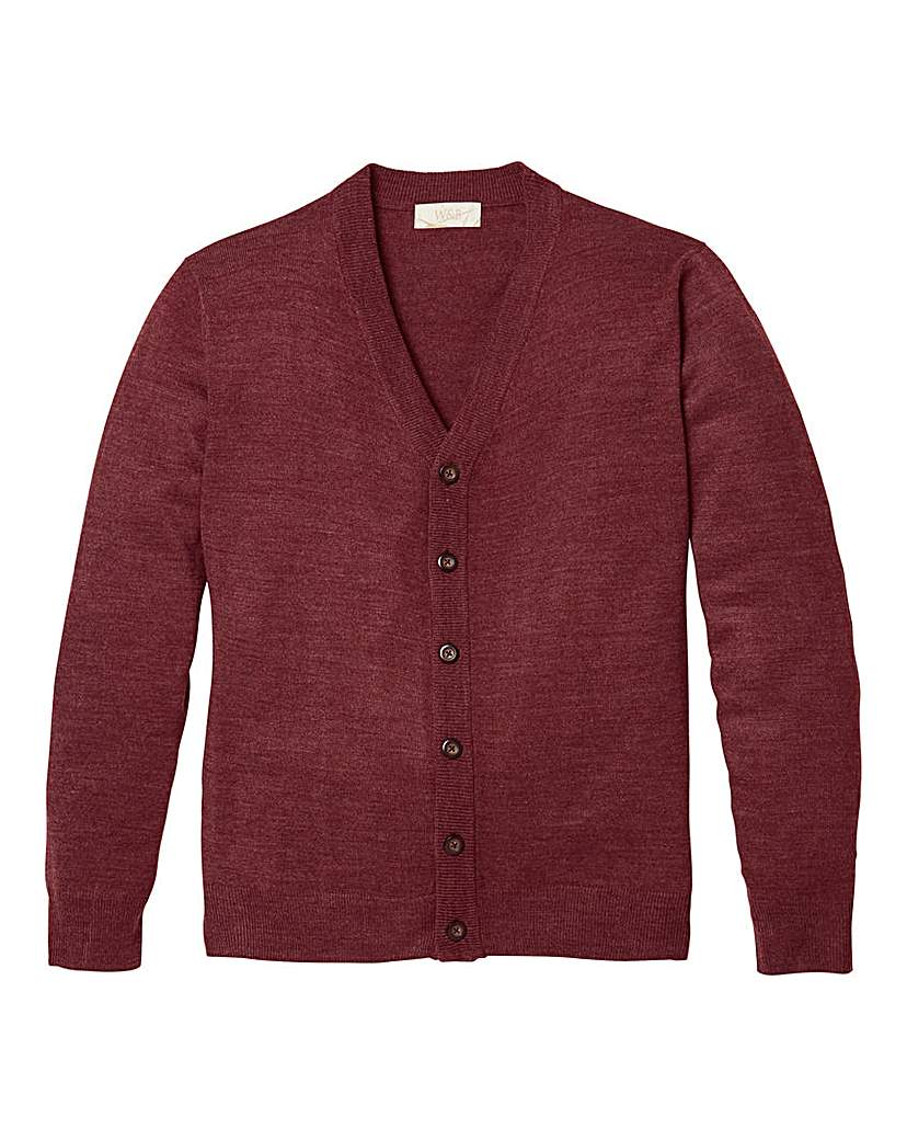 WILLIAMS & BROWN Button Cardigan.