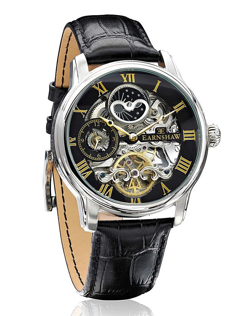 Earnshaw 'Longitude' Watch and Cufflinks