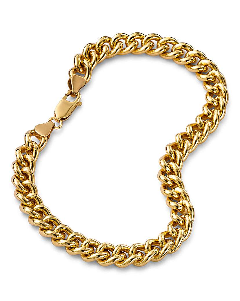 1oz Rolled Gold Curb Bracelet