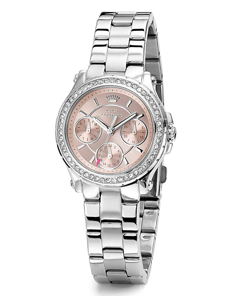 Image of Juicy Couture Silver-Tone Bracelet Watch
