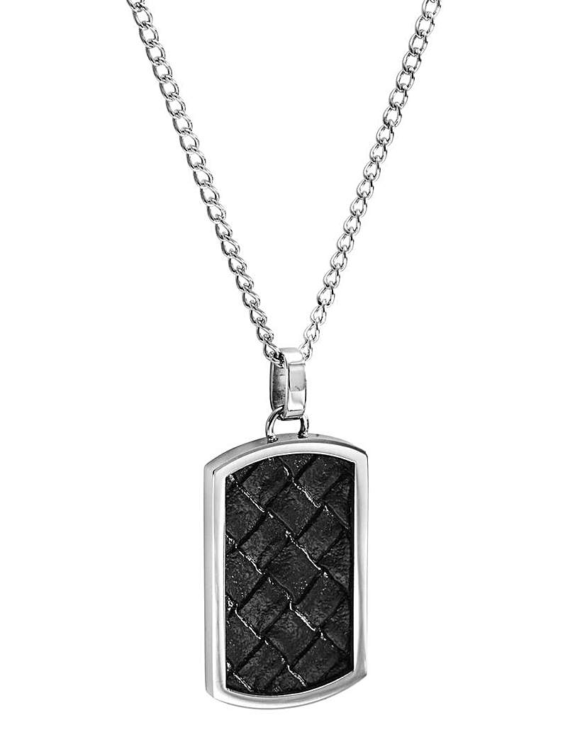Image of Fred Bennett Gents Leather Pendant