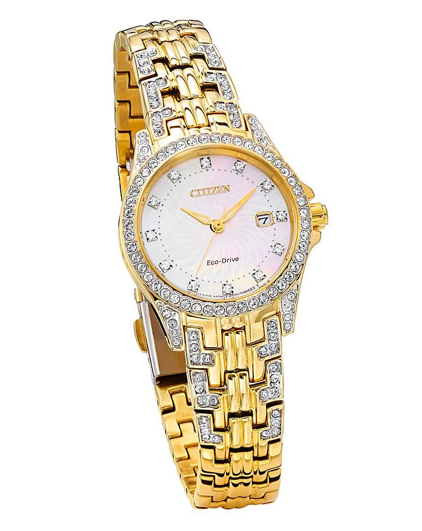 Citizen Eco-Drive Ladies Gold-tone Watch