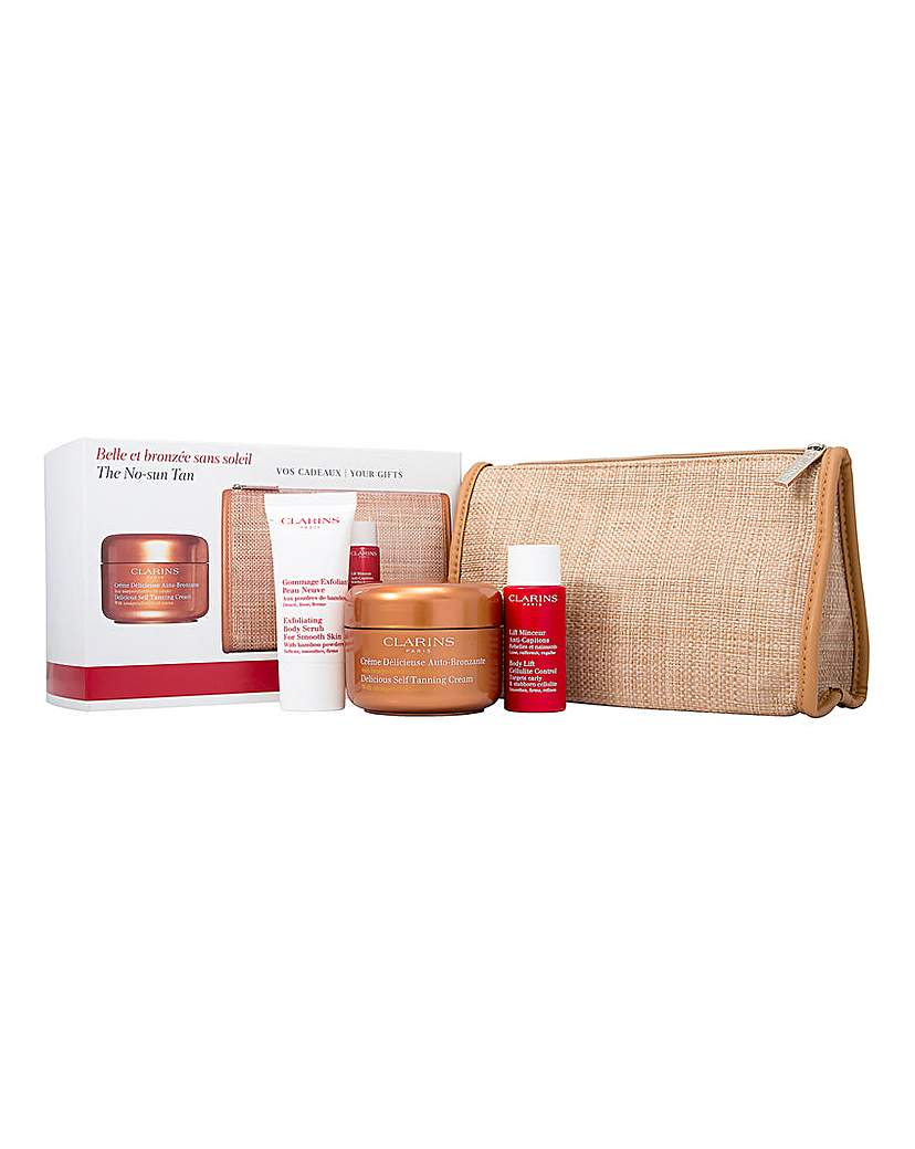 Image of Clarins Tanning and Body Scrub Set