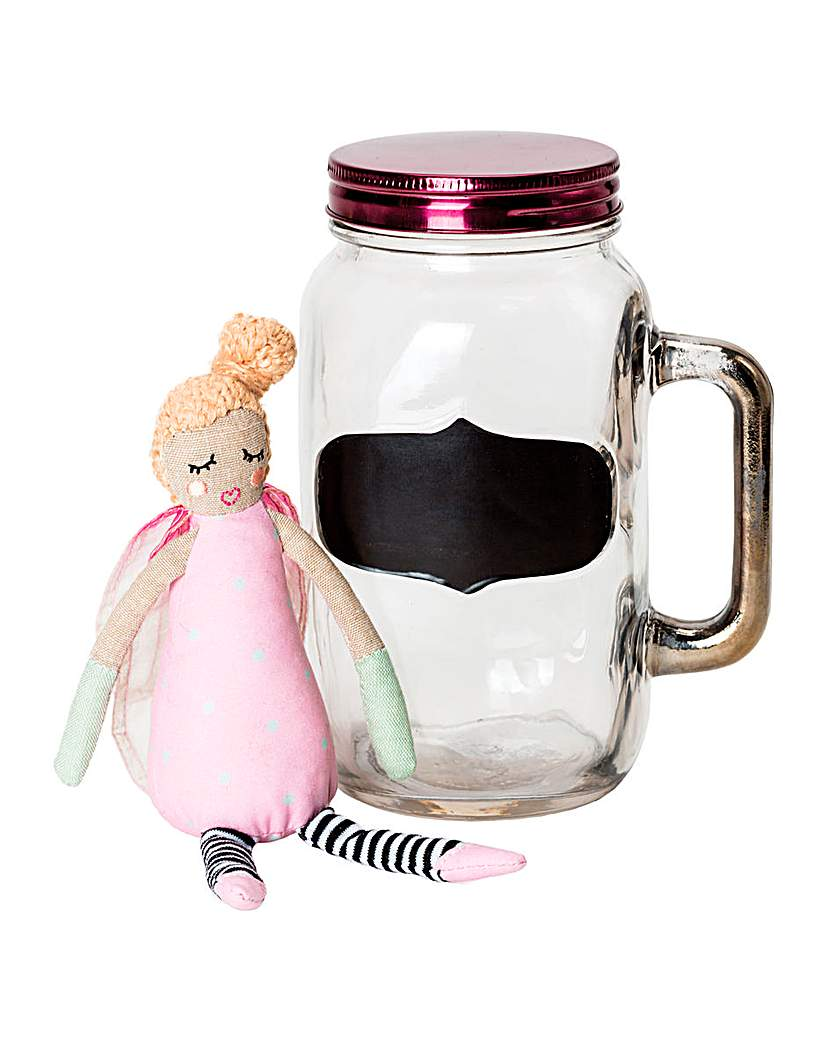 Image of Fairy Wishes in Mason Jar