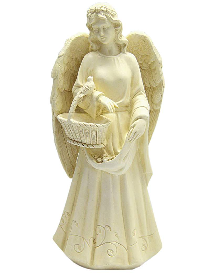 Image of Angel with Basket