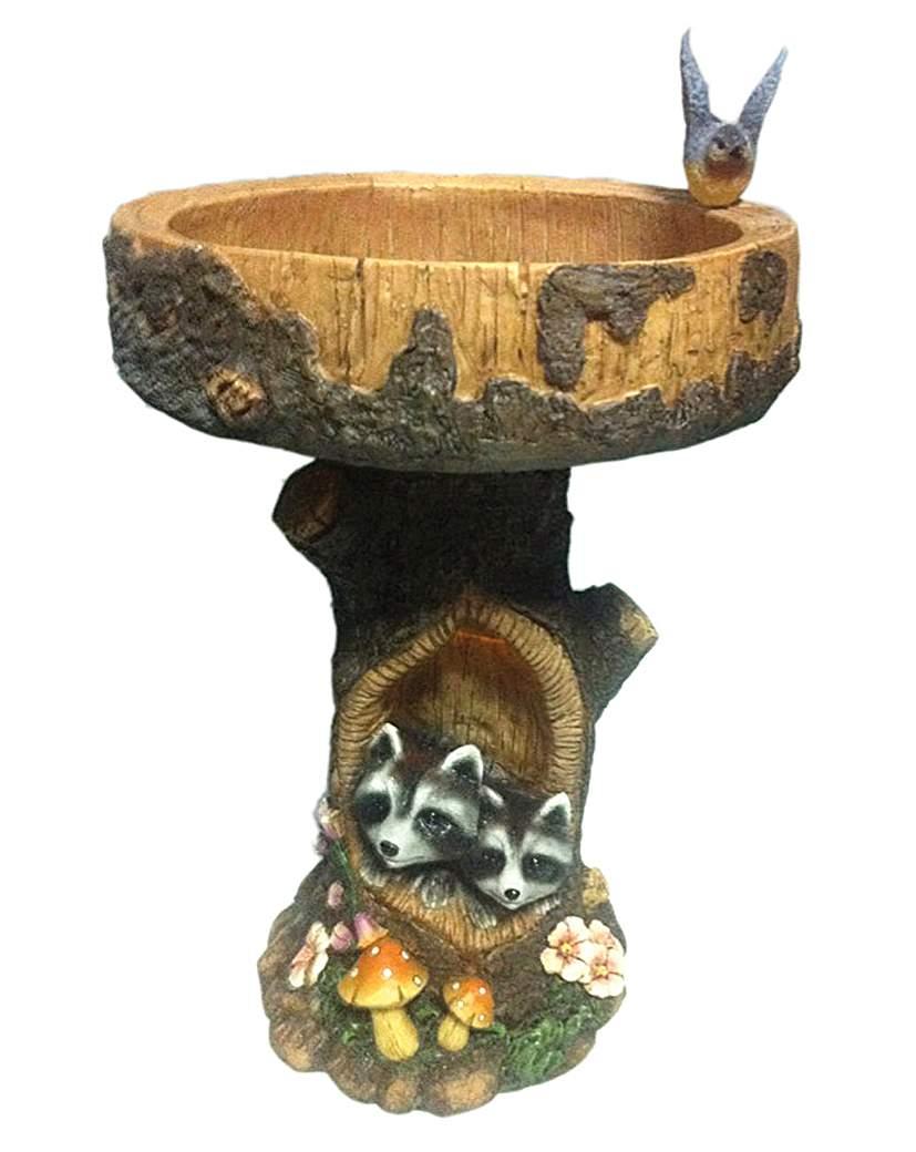 Raccoon Bird Table/Bath