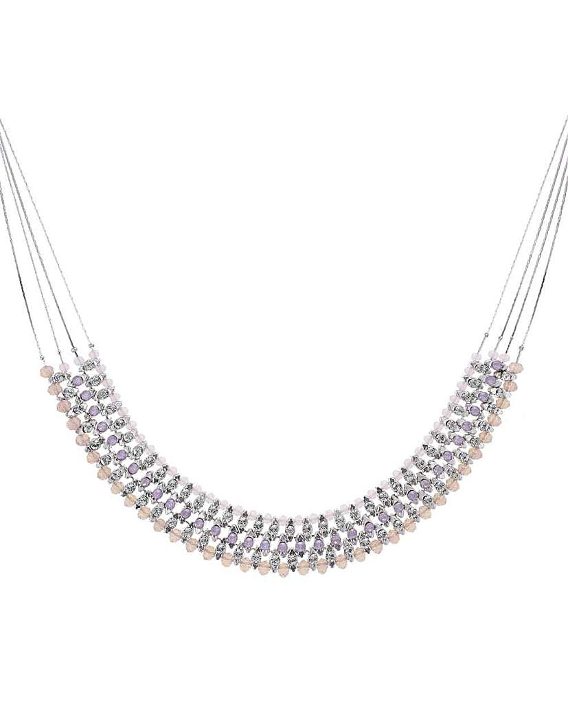 Mood Beaded Outline Collar Necklace