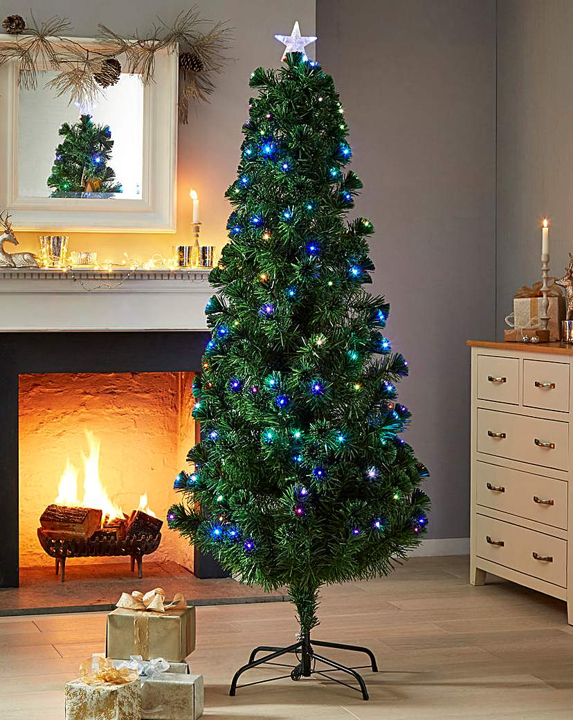 Green LED Pre-Lit Colour Changing Tree