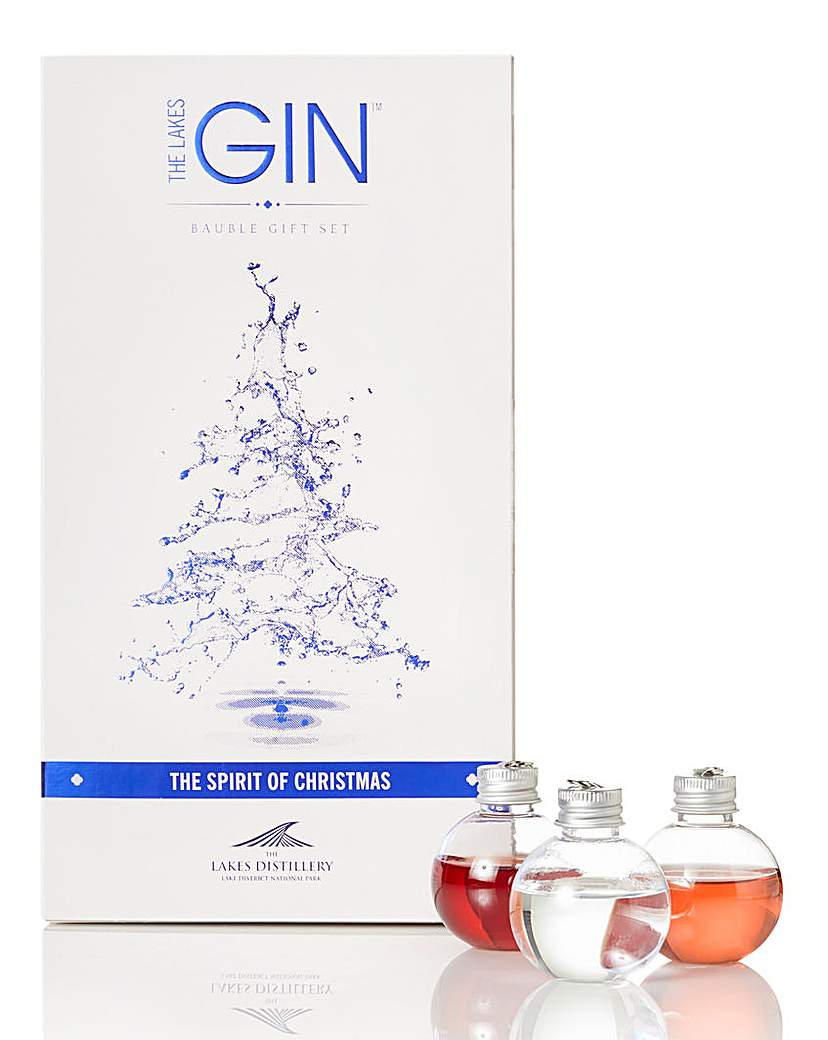 Lakes Distillery 6 Gin Baubles