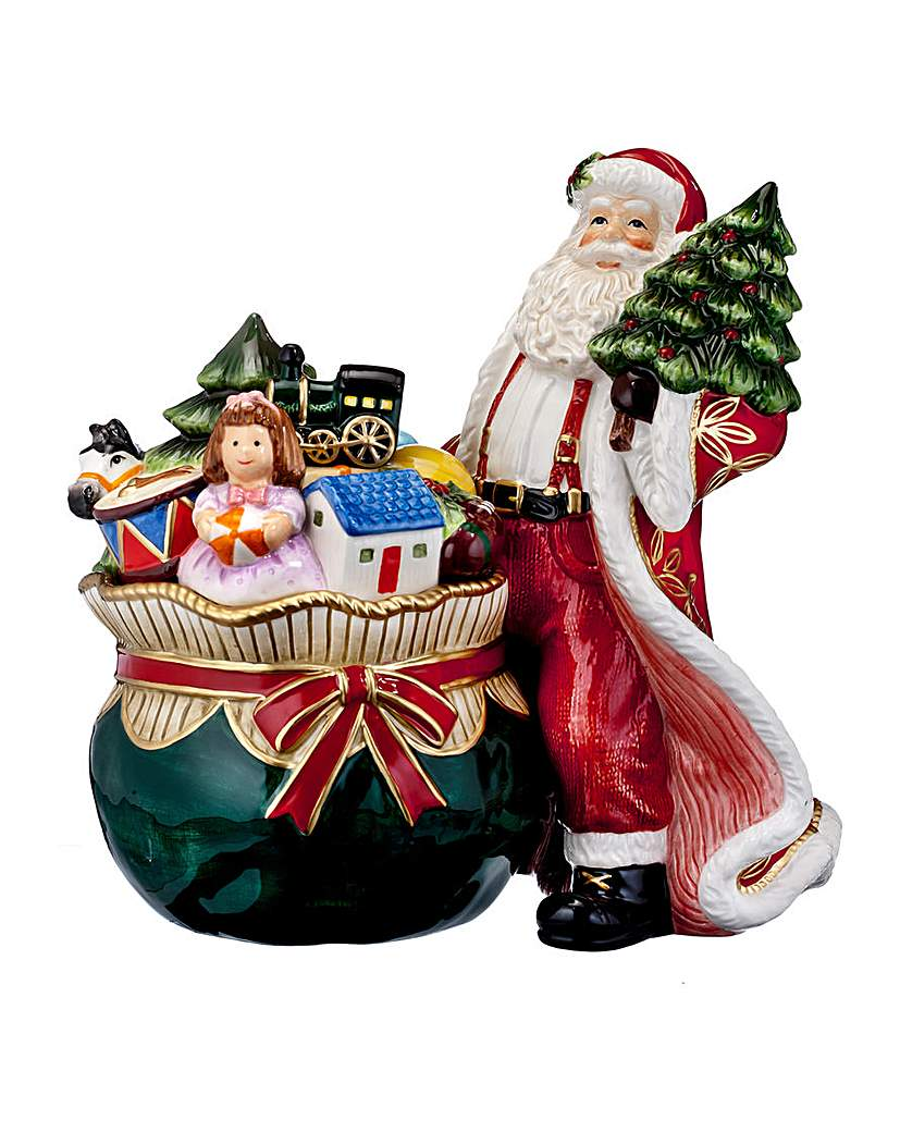 Waterford Christmas Cookie Jar