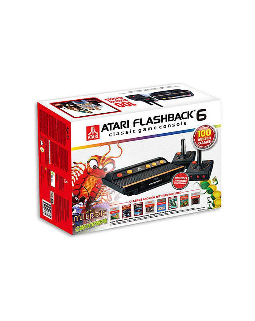 Image of Flashback 6 Game Console & 100 Games