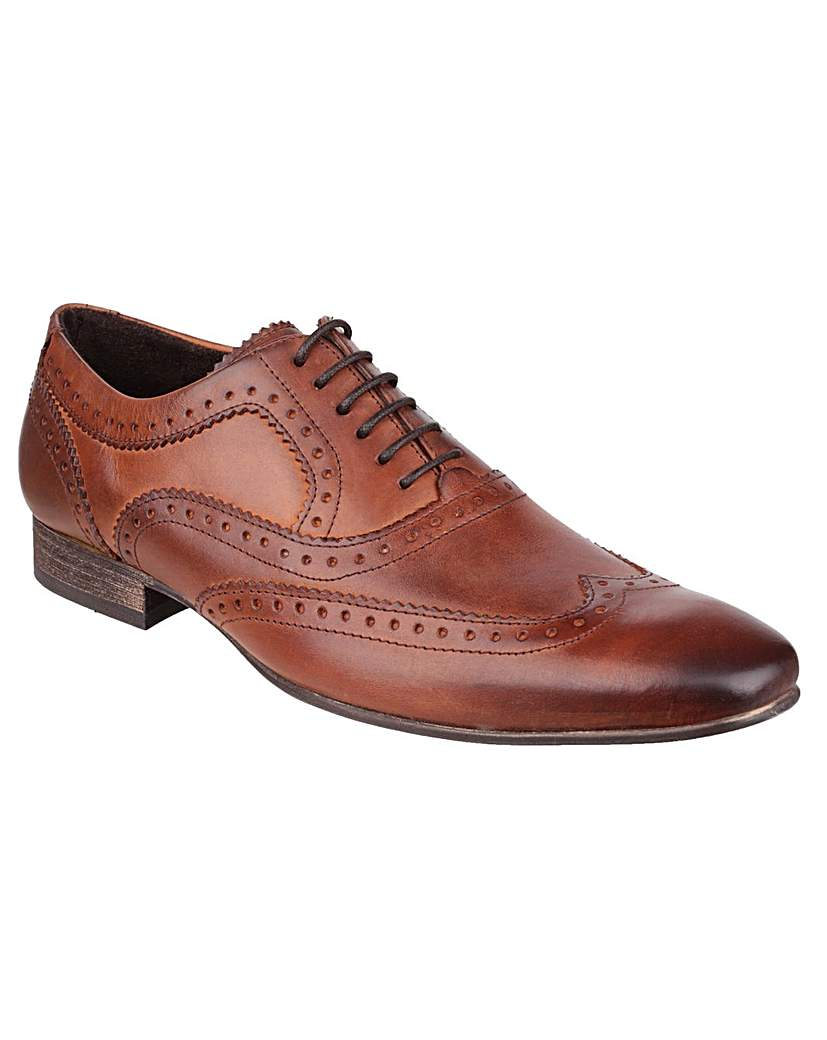 1950s Style Mens Shoes Base London Nutmeg £68.00 AT vintagedancer.com
