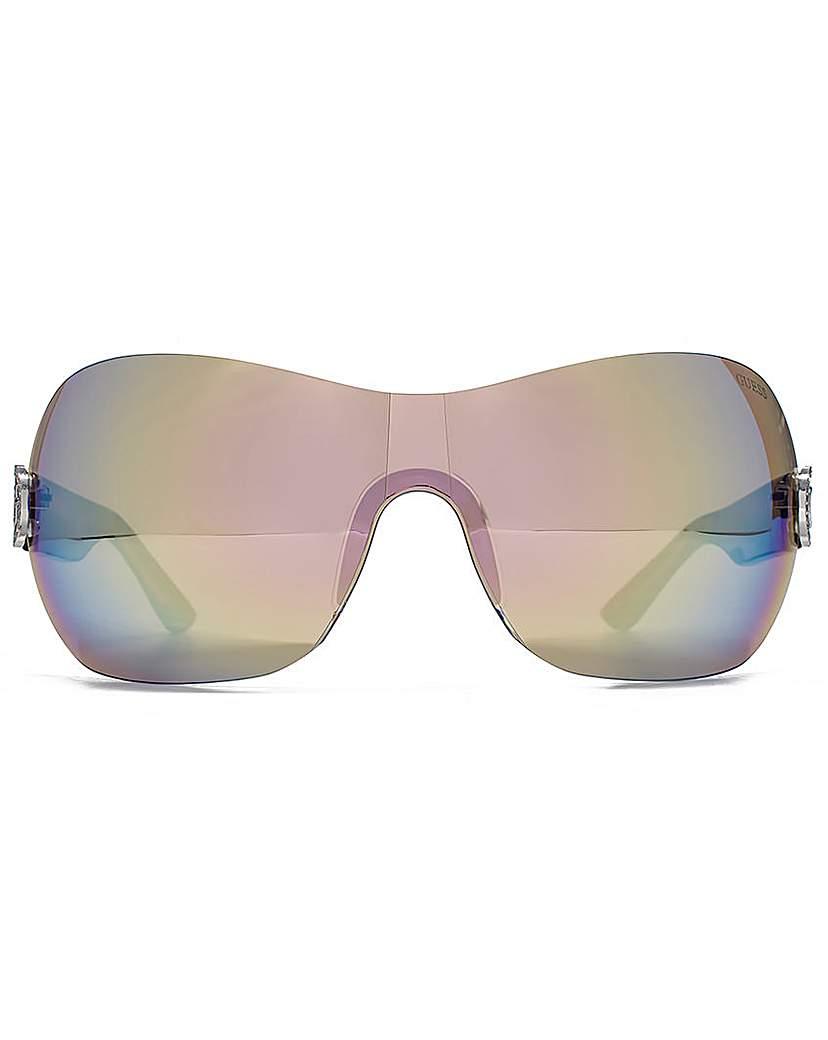 Guess Diamante G Visor Sunglasses
