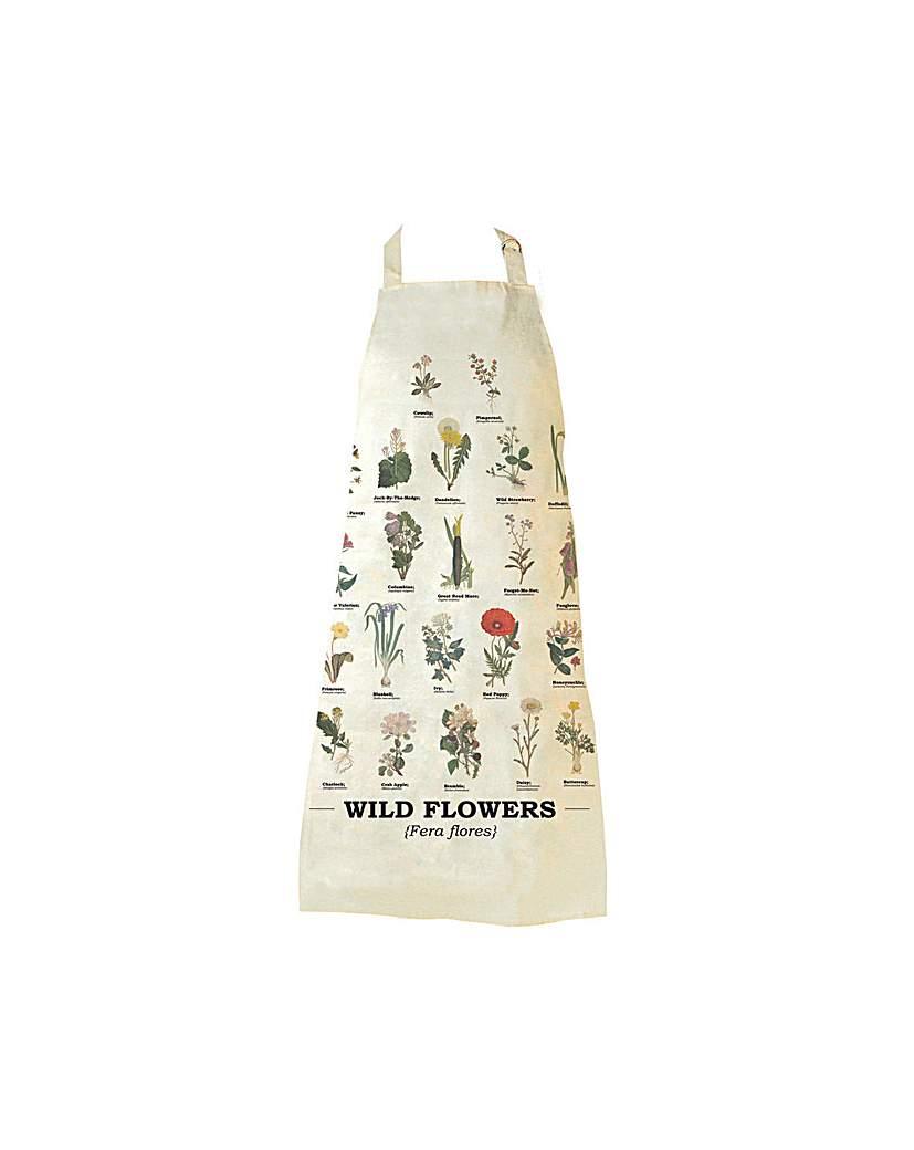 Wild Flowers Apron