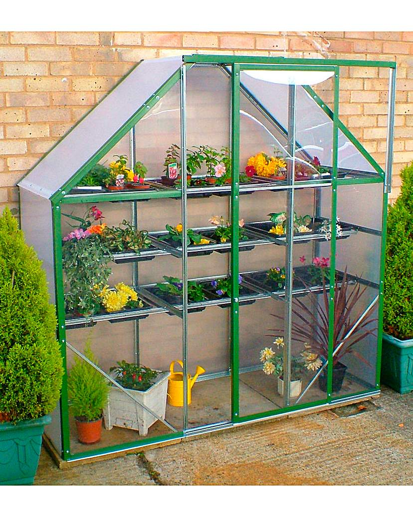 Space Saver Greenhouse.