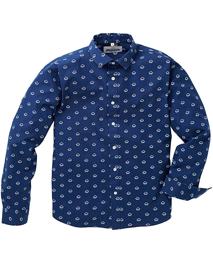 Jacamo Vapor Printed L/S Shirt Long.