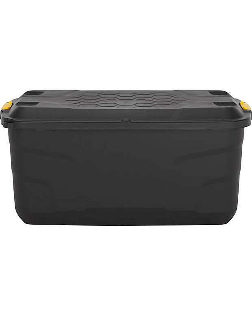 145L Heavy Duty Storage Trunk on Wheels