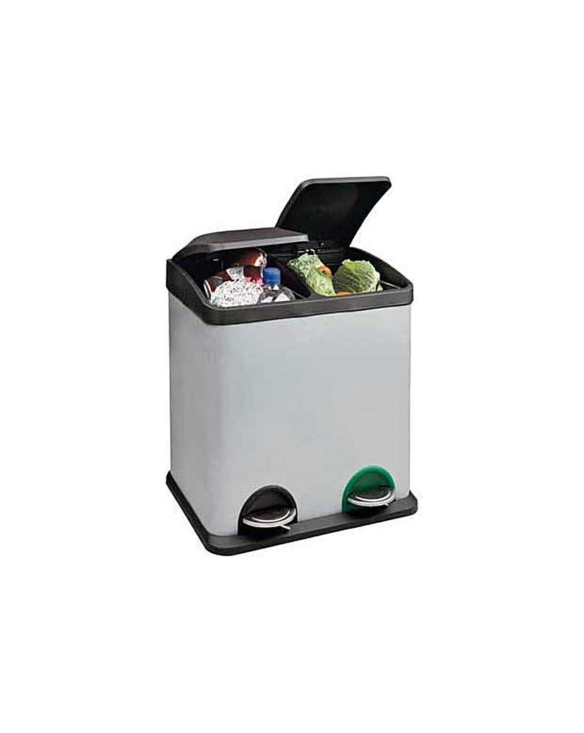 Image of 30L Recycling Pedal Bin