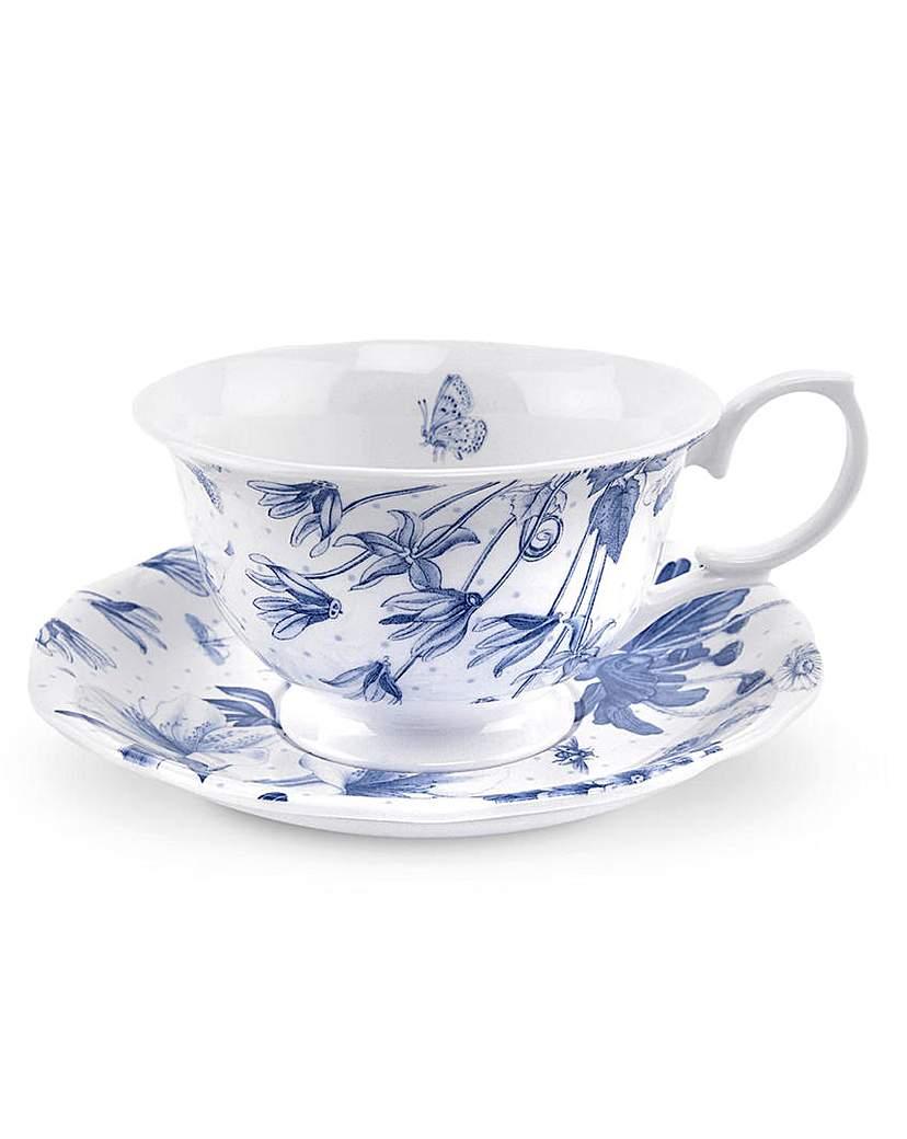 Portmeirion Botanic Blue - Cup & Saucer