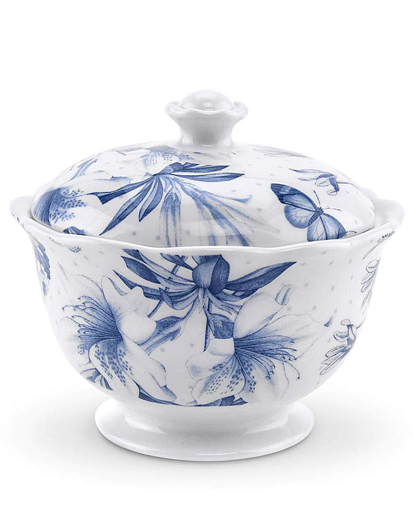 Portmeirion Botanic Blue - Sugar Bowl