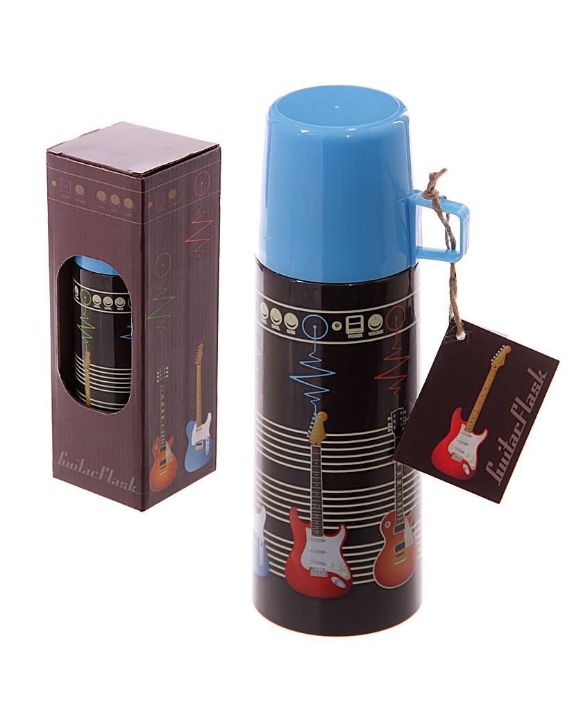 Image of 350ml Flask - Guitar Design