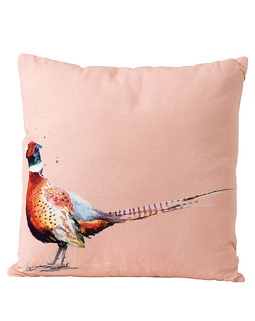 Image of Sarah Stokes Pheasant Cushion