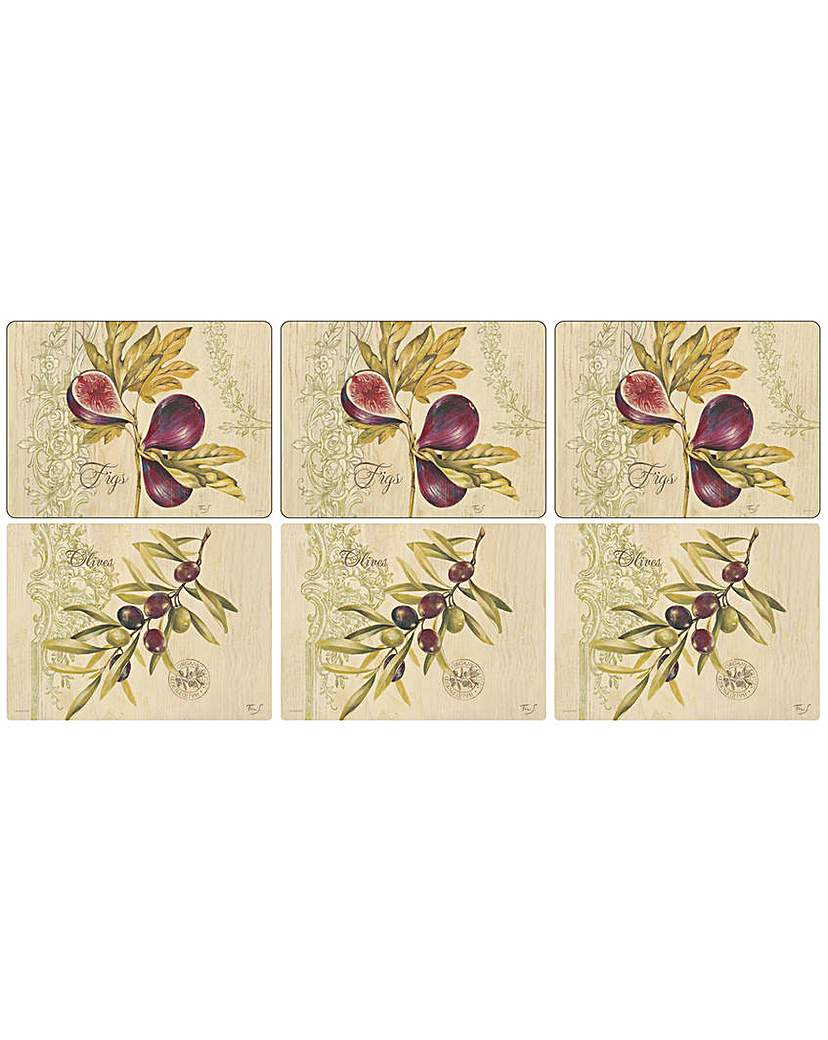 Image of Pimpernel Olives & Figs Placemats