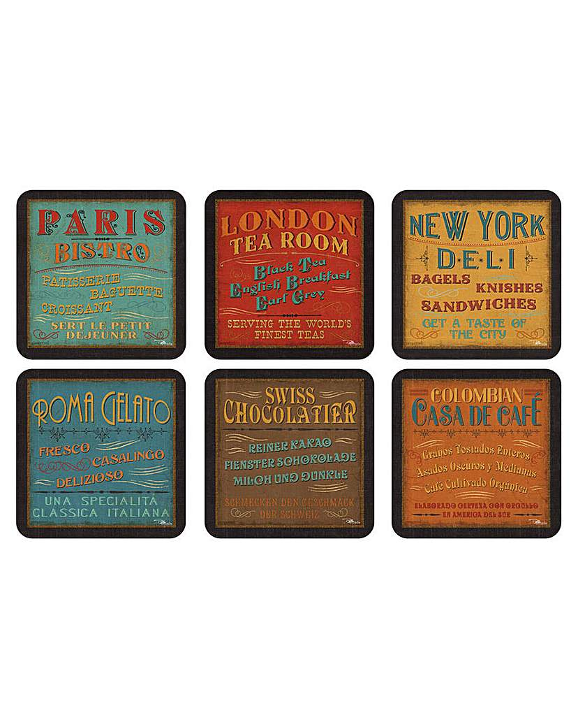 Image of Pimpernel Lunchtime Coasters