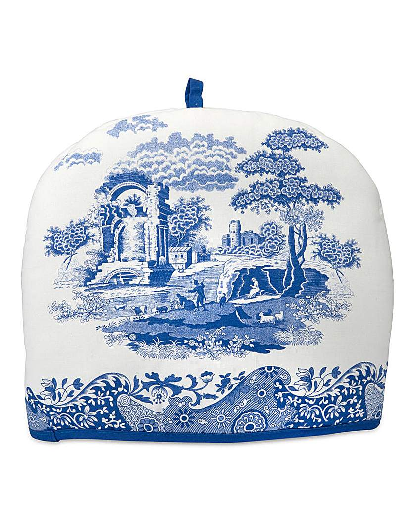 Image of Blue Italian Tea Cosy