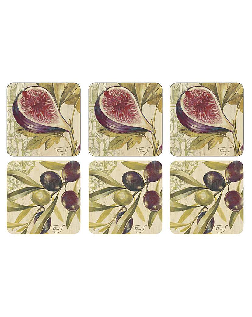 Image of Pimpernel Olives & Figs Coasters