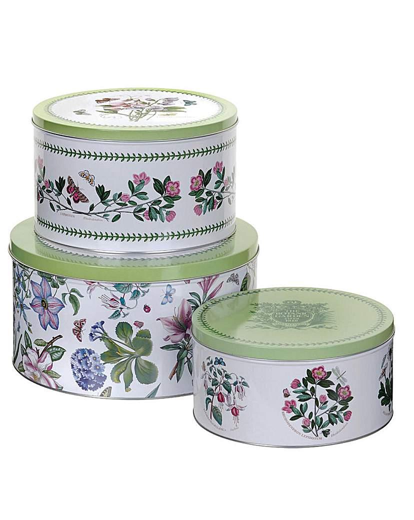 Image of Botanic Garden Set Of Three Cake Tins