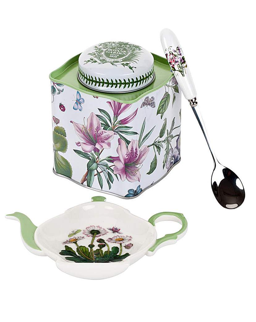 Image of Botanic Garden Three Piece Tea Set
