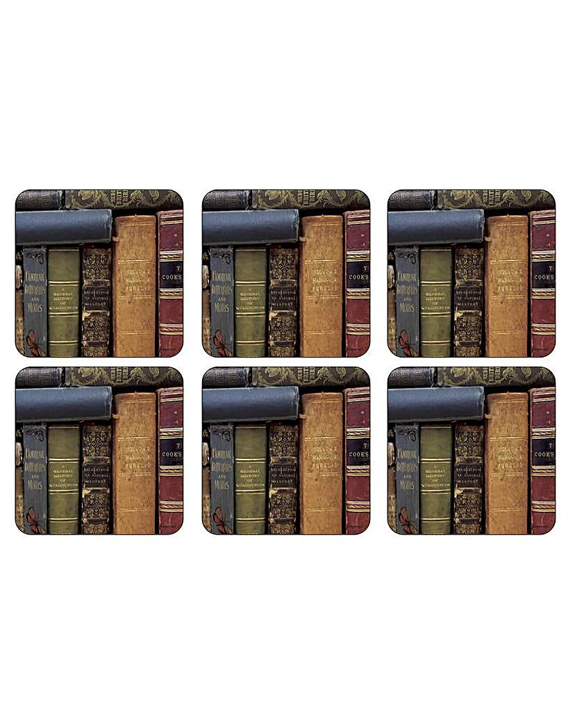 Image of Pimpernel Archive Books Coasters