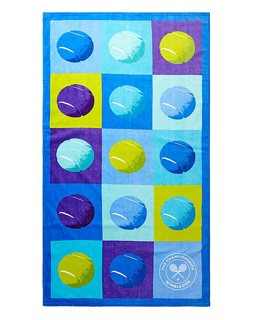 Image of Wimbledon Christy Tennis Beach Towel