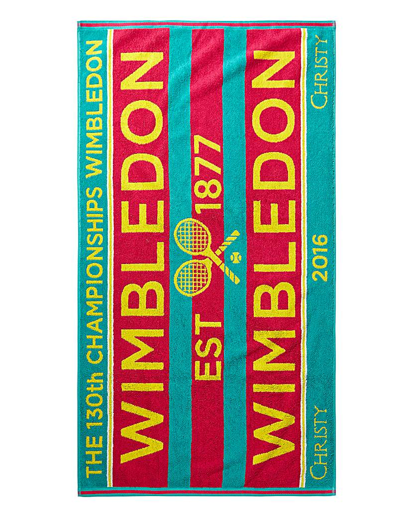 Image of Wimbledon Christy Championship Towel